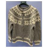 Hand woven wool sweater by Dale of Norway, men
