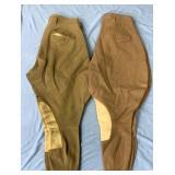 Lot of 2 pairs of vintage jodhpurs         (3)