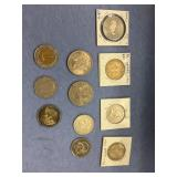 Lot of misc. foreign coins: Cayman Islands, Nether