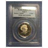 1979 S Susan B. Anthony silver dollar type I PR68