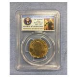 2007 D George Washington Presidential dollar coin