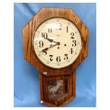 Howard Miller wall clock, pendulum and key include