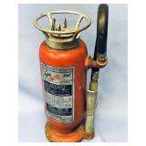 """Vintage fire extinguisher about 13.5"""" tall"""