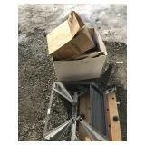 Lot with vehicle filters, flashlight, welding cutt