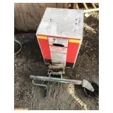 Lot of 2: one is  trailer tongue jack new in box,