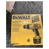 New in box DeWalt 12 volt heavy duty cordless dril