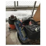 Lot of 3: one is  2.0 shop vac, 2nd is  Krebs airl