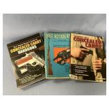 Lot of 3 books pertaining to firearms     (O 16)