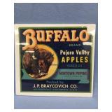 "Buffalo brand shipping label, shrink wrapped 10.5"""