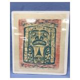 Welch Mathlaw signed and numbered wood block print