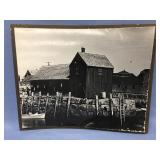 """Old photograph with cardboard backing 15"""" x 19"""""""