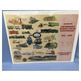 "75 years Alaska Railroad poster 25"" x 7"" shrink-wr"