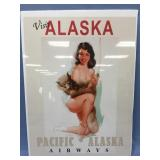 """Shrink wrapped Pacific Airways poster 24"""" x 18"""""""