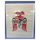 Shrink wrapped print of Tlingit art           (700
