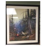 """Framed Sidney Laurence print, 28.5"""" x 24.25"""" frame"""