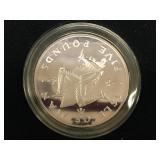1991 Isle of Man 5 pound coin          (33)