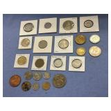 Bag lot of misc. coins including The Republic of M