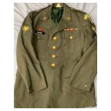 US Army issue dress jacket with Canine Military Po