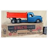 Metal Structo dump truck #200 with box