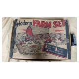 Marx modern farm set in box