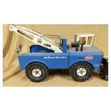 Blue Mighty Tonka 24 hour service truck