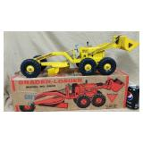 Nylint Toys grader-loader. Model No 3000. w/Box.