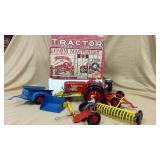 Marx Tractor Sales & Service Set