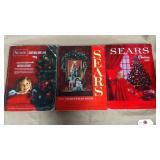 Sears Christmas books: 1961, 1962, & 1968.