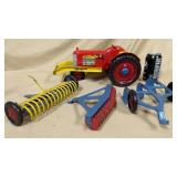 Marx Tractor with Implements