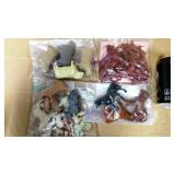 Four Bags of Farm Animals