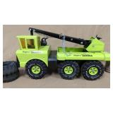 Lime Green Mighty Tonka Truck