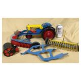 Marx Tractor & Equipment Set