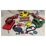 Lot Metal Toys and Repair Parts