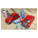 Set Bandai VW Remote Control Cars