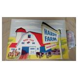 Hardy Plastic Farm Wagons In Box