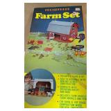 Brumberger Wooden Barn Farm Set
