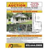 Moss Court Absolute Auction