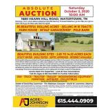85 Acres selling in 16 Tracts Absolute Auction
