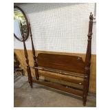 CHERRY FULL SIZE POSTER BED