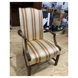SOUTHWOOD OPEN ARM CHIPPENDALE CHAIR