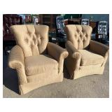 PR OF EXTRA CLEAN DESIGNER CHAIRS