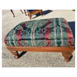 MAHOGANY QUEEN ANNE FOOTSTOOL