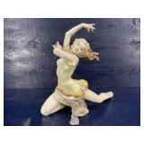 ART DECO RARE TALL HUTSCHENREUTHER BALLET DANCER