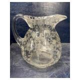 ROSE POINT PITCHER