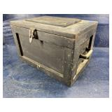 EARLY 19TH CENTURY SMALL TOOLBOX