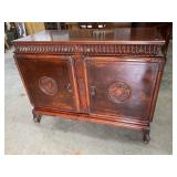 MAHOGANY CHINESE CHIPPENDALE CHEST