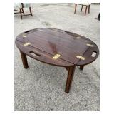 SOLID CHERRY BUTLERS COFFEE TABLE
