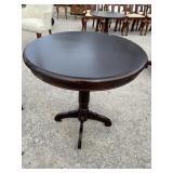 MAHOGANY ROUND CENTER TABLE EXTRA CLEAN