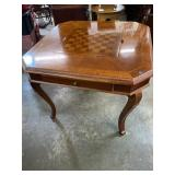 CHERRY LIFT TOP GAME TABLE