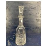 WATERFORD CRYSTAL TALL LISMORE DECANTER WITH